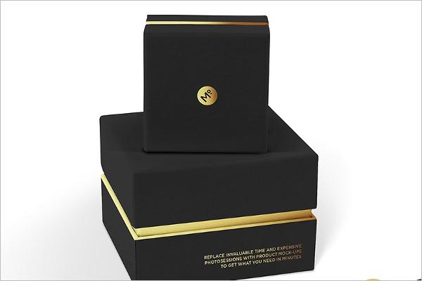 Jewelry Box Sets Mockup Design