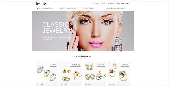 Jewelry Responsive Prestashop 1.7 Theme