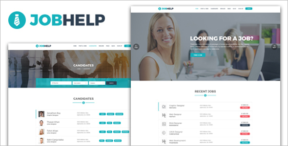 Job Applicant WordPress Theme