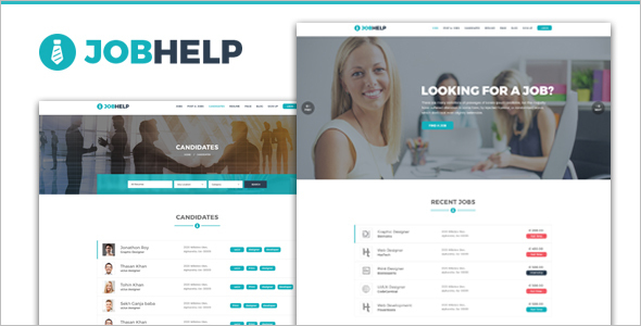 Job Corporate WordPress Theme