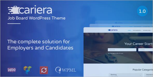 Job Employer WordPress Theme