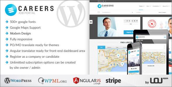Job Portal & Candidates WordPress Theme