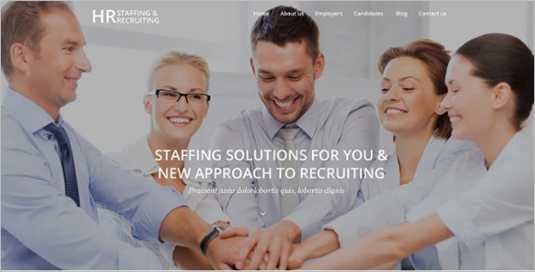 Job Portal PSD WordPress Theme