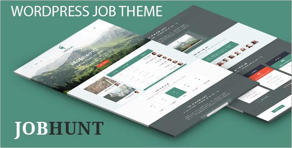 Job Recruitment WordPress Theme