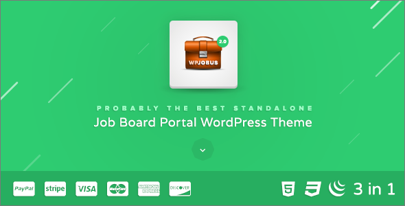 Job Resumes WordPress Theme
