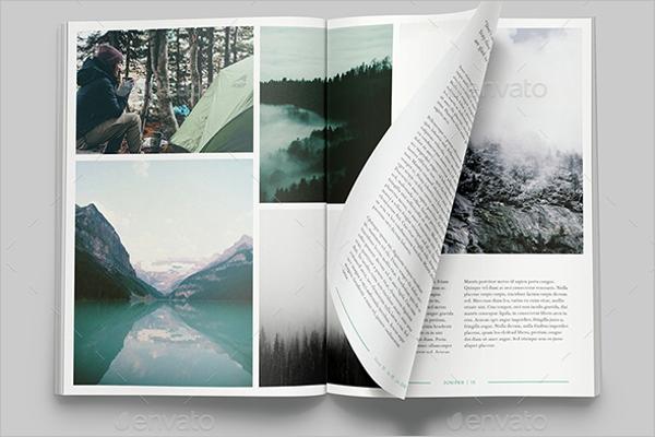 Juniper Magazine Mockup