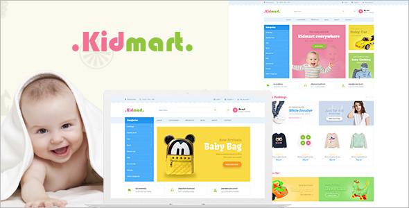 Kid Mart - Responsive PrestaShop Theme