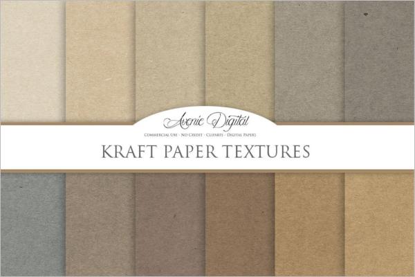 Kraft Paper Background Texture Design