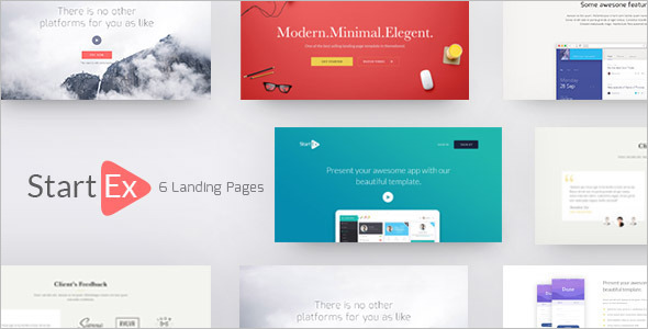 Landing Page Business Video Template