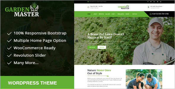 Landscaping Multipurpose WordPress Theme