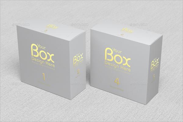 Latest Gift Box Mockup Design