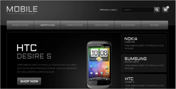 Latest Mobile Store PrestaShop Theme