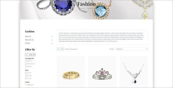 Leo Jewellery Store Prestashop Template