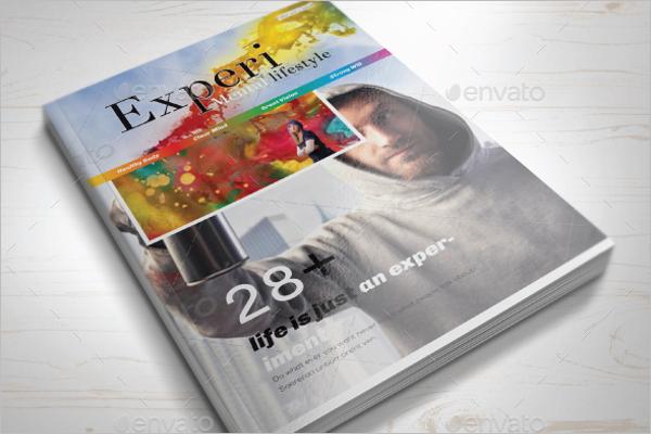 Lifestyle Magazine Mockup