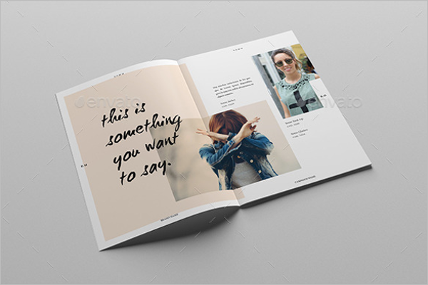 Lookbook Magazine Mockup