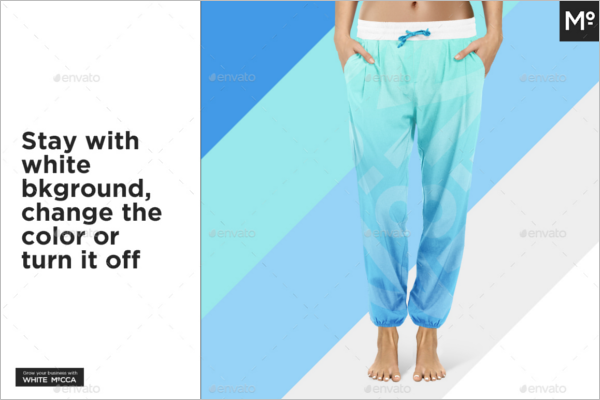 Loose Legging Mockup Design