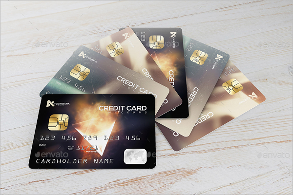 LoyaltyCreditCard Mockup Design
