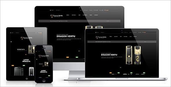 Luxury Mobile Prestashop Template
