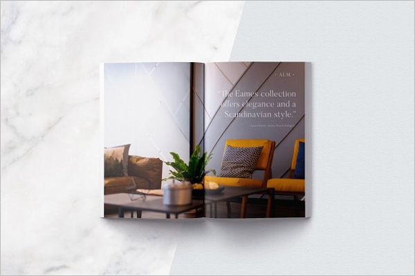 Magazine Portpolio Brochure Template