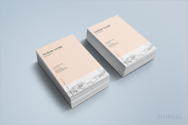 Marble Fashion Business Card