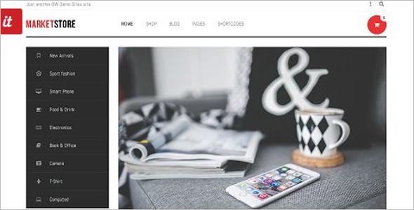 Market Store WordPress Theme