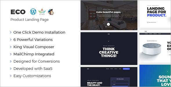 Marketing Product WordPress Template