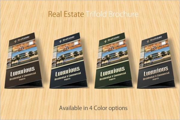 Marketing Real Estate Brochure Template