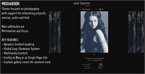 MediaBook Multimedia WordPress Theme
