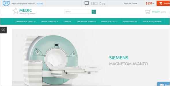 Medic Medical Equipment PrestaShop Theme