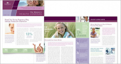 Health & Medical Newsletter Templates