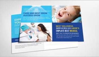 Medical Postcard Templates