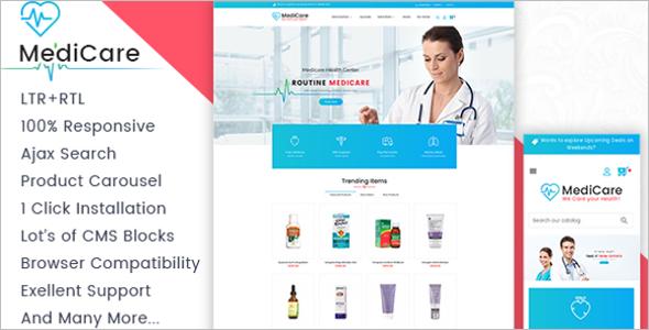 Medicine Store Prestashop Theme