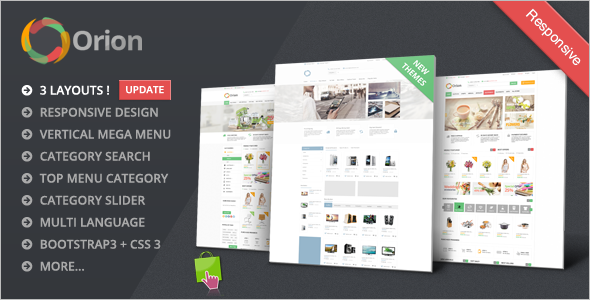 Mega Shop Responsive Prestashop Theme