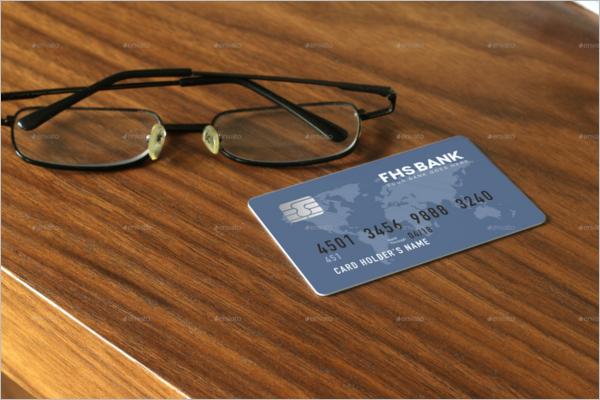 Membership Card Mockup Design