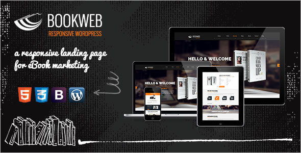 Minimal Book Store WordPress Theme