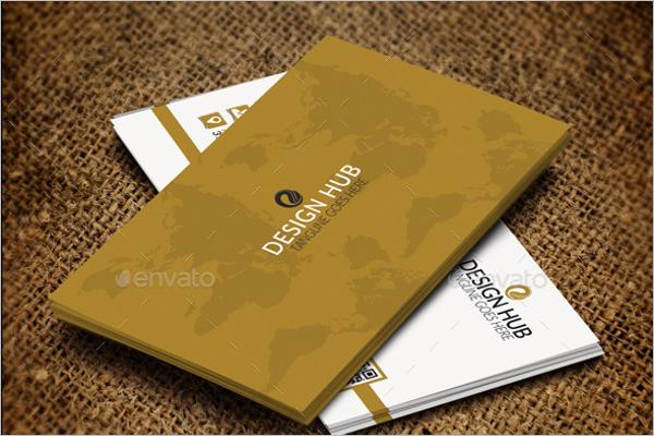 Minimal Interior Business Card