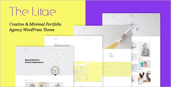 Minimal Portfolio PHP Theme