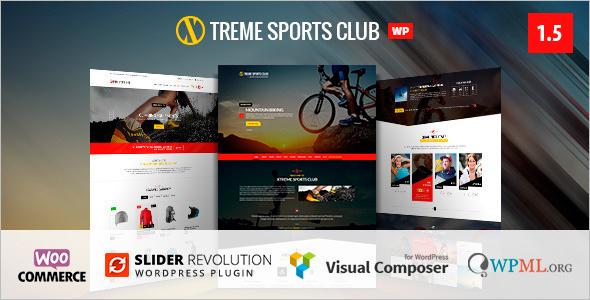 Minimal Sport WordPress Template