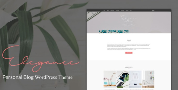 Minimal WordPress Template