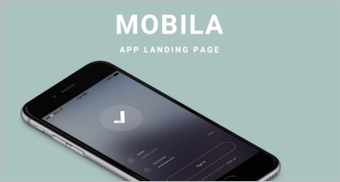 Mobile Landing Page Themes