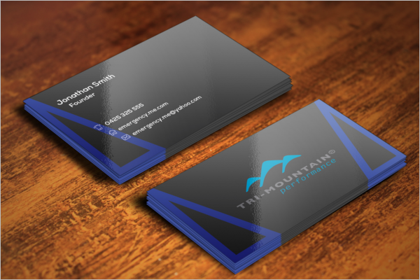 Model Business Card Templates