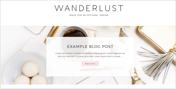 Modern Blog Design WordPress Theme