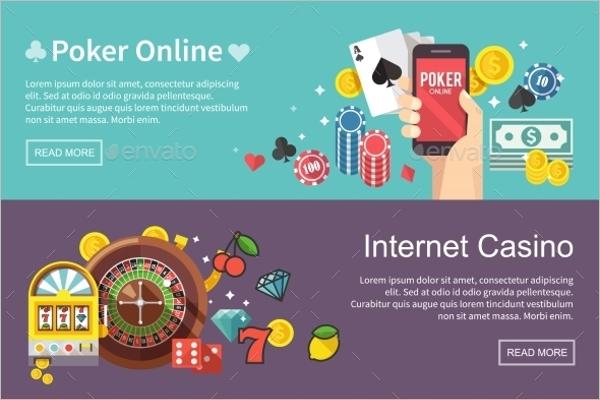 Modern Casino Banner Design