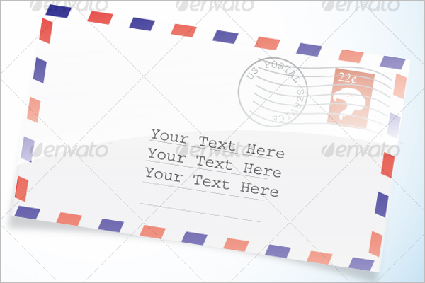 Modern Envelope Template
