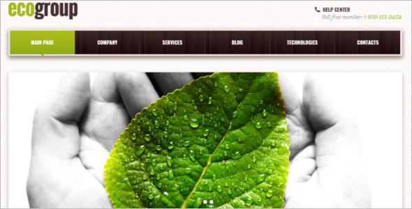 Modern Environmental WordPres Template