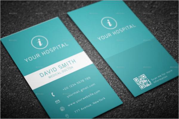 Modern Hospital Business Card
