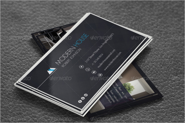 Modern Interior Business Card