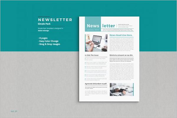 30 business newsletter templates free premium