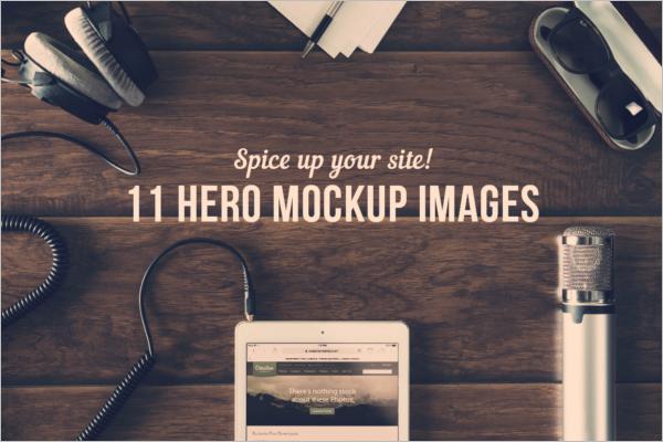 Modern Photo Display Mockup
