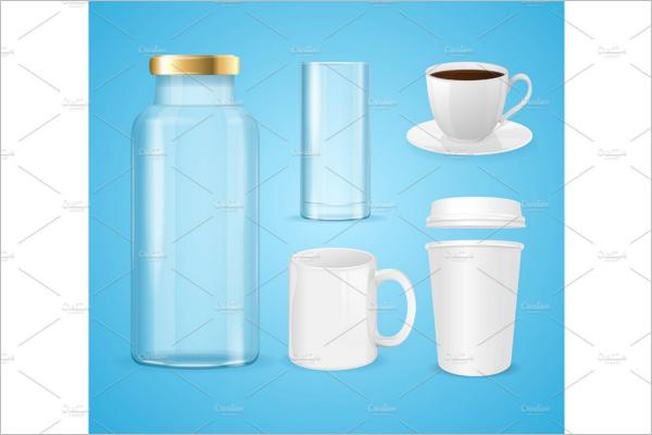 Modern Plastic bottle mockup